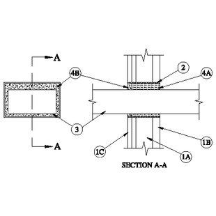 u415 ch assemblies penetration Ul stud